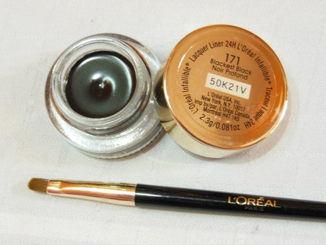L'Oreal Infallible Lacquer Eyeliner Blackest Black