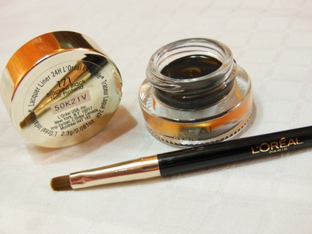 L'Oreal Infallible Lacquer Liner 24hr Eye Liner Blackest Black Review
