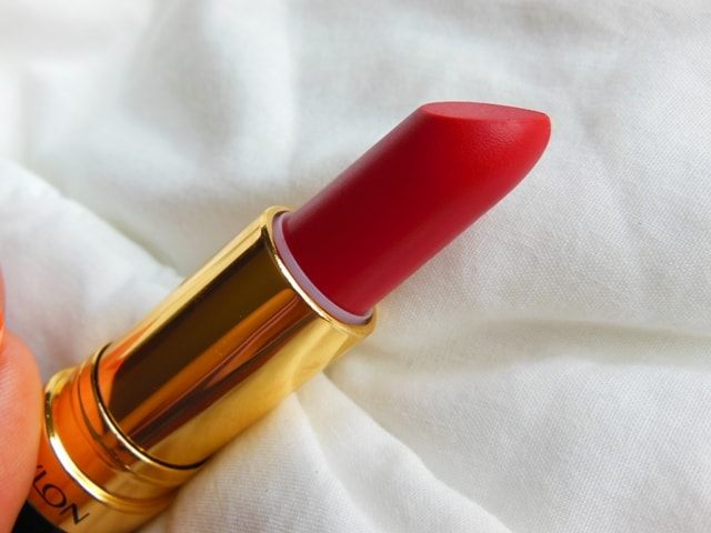 Revlon Superlustrous Matte Lipstick Really Red Review