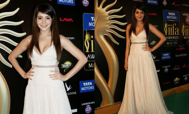 Anushka Sharma in Robert Cavalli @ IIFA Awards 2013