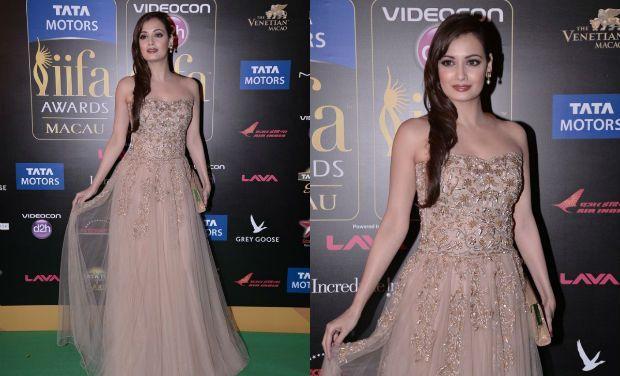 Dia Mirza-IIFA Awards 2013