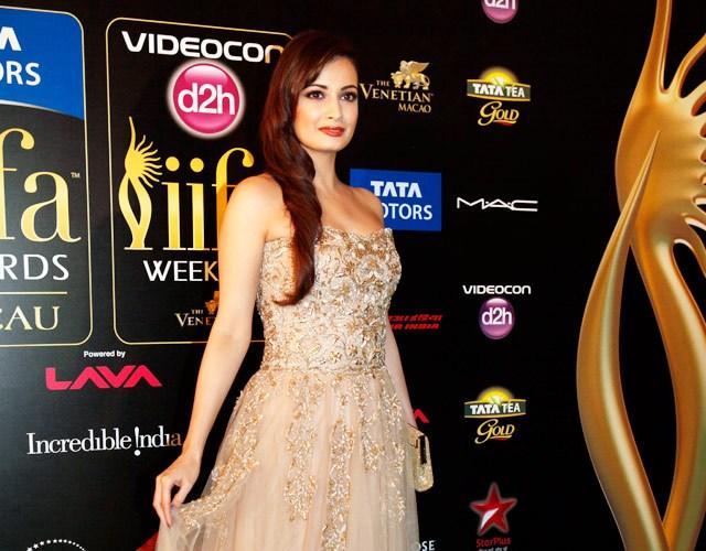 Dia Mirza at IIFA Awards 2013