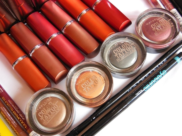 Favorite Drugstore Makeup Brand-Maybelline-Color Tattoo Eye Shadows