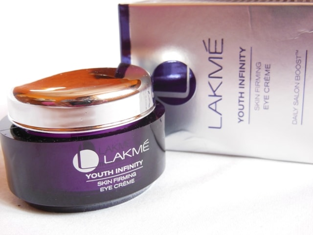 Lakme Youth Infinity Eye Cream Review