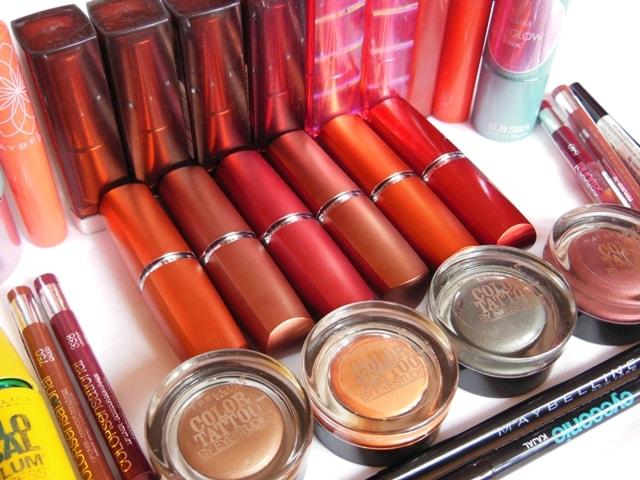 Maybelline Favorite Drugstore Makeup Brand-Moisture Extreme Lipsticks