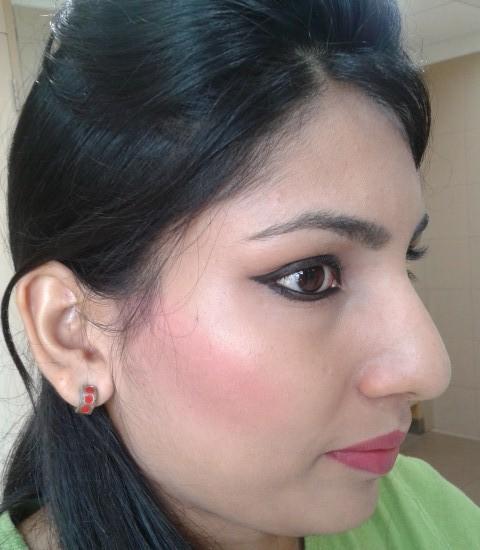 NYX Cream Blush-Glow FOTD