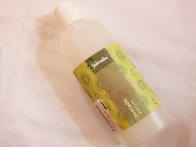 Products Finished - FabIndia Avocado Shampoo