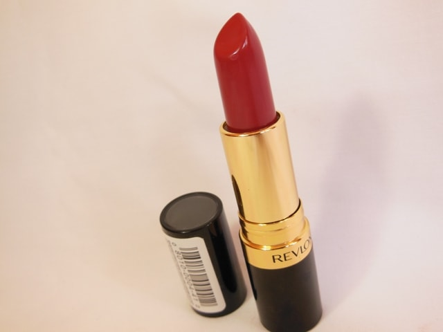 Revlon Super Lustrous Lipstick Berry Rich Review