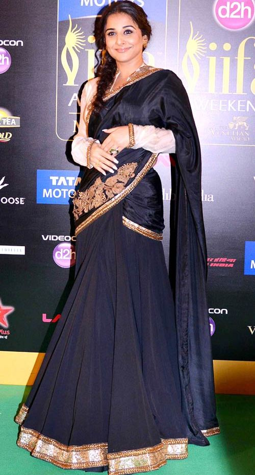 Vidya Balan @ IIFA Awards 2013 in Anand kabra Creation