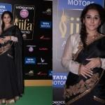 Vidya Balan @ IIFA Awards 2013 in Black Saree