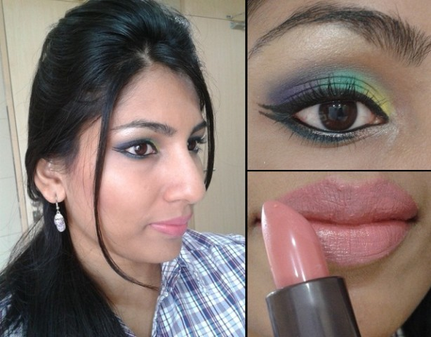 What Am I Weraing Today-Rainbow Eye Makeup