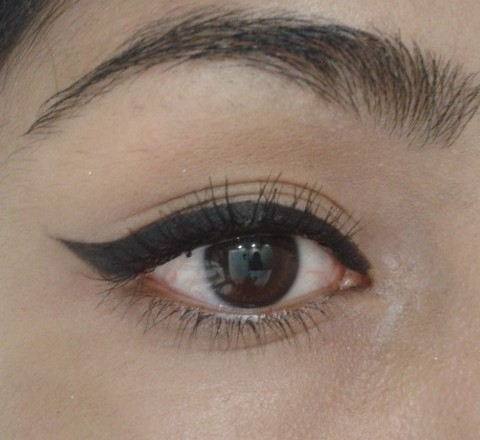 Winged Eye Liner Tutorial EOTD