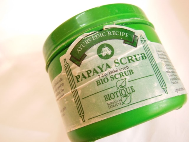 Bath & Body Favorites @ July 2013-Biotique Papaya Scrub