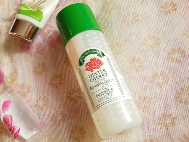 Finally Finished - Biotique Winter Cherry Body Lotion
