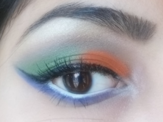 Independence Day 2013 Eye Makeup 5