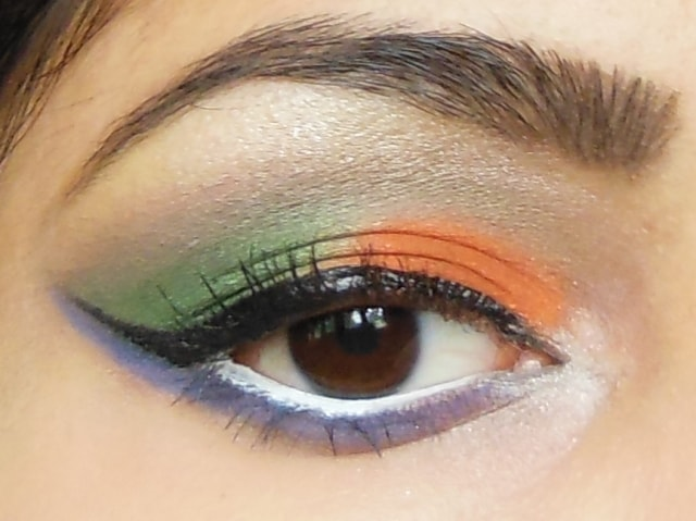 Independence Day 2013 Eye Makeup 6
