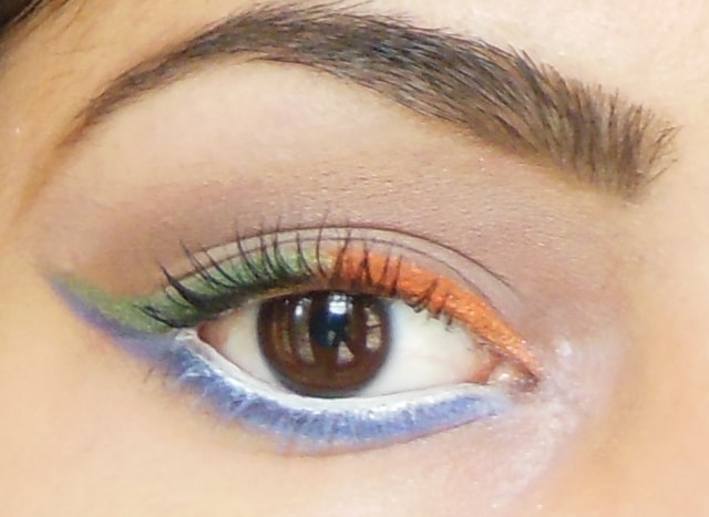 Independence Day Inspired Eye Make up Look 2