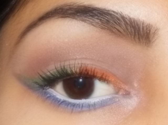Independence Day Inspired Eye Makeup Look 2
