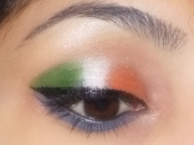 IndependenceDay 2013 Eye Makeup Look 3