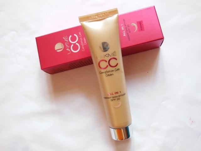 Lakme CC Cream All In One Instant Skin Stylist - Bronze Review
