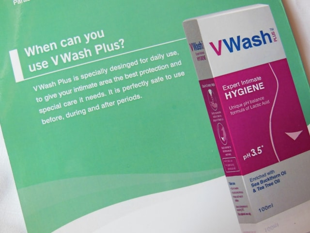 V Wash Expert Intimate Hygiene directions