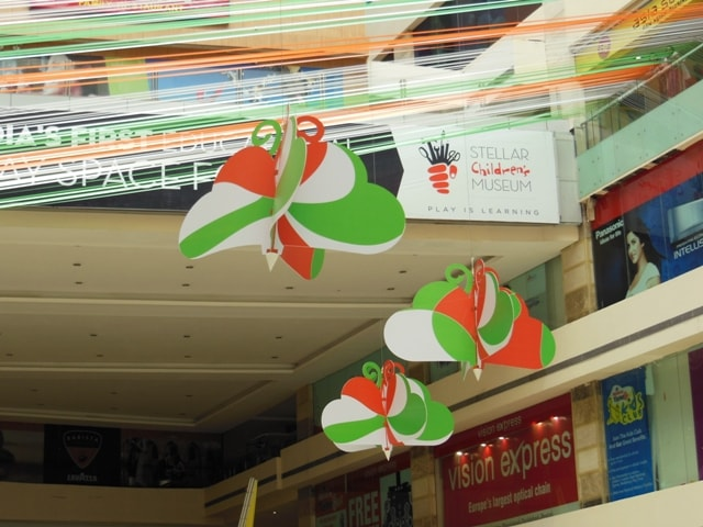 Butterfly Decoration In Ambience Mall