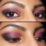 Eye Makeup Look - Smokey Pink Eyes2