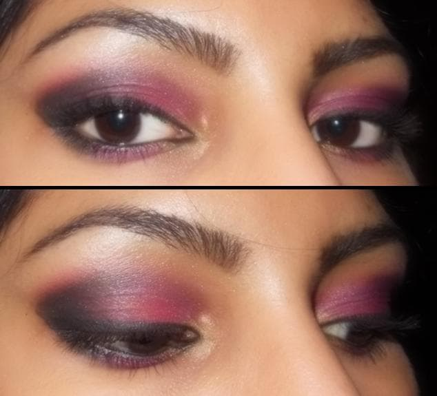 Eye Makeup Look - Smokey Pink Eyes2
