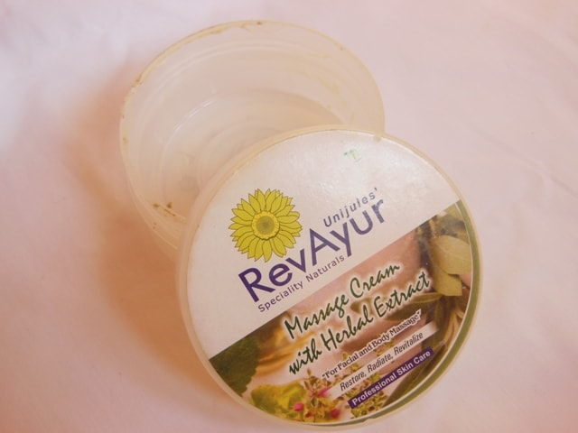 Finally Finished - Revayur Massage Cream With Herbal Extracts
