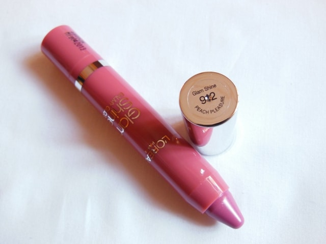 L Oreal Paris Glam Shine Balmy Gloss Peach Pleasure 912