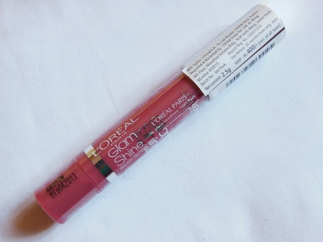 L'Oreal Paris Glam Shine Balmy Gloss Peach Pleasure