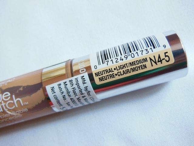 L'Oreal Paris True Match Super-blendable Concealer Light-Medium N4-5