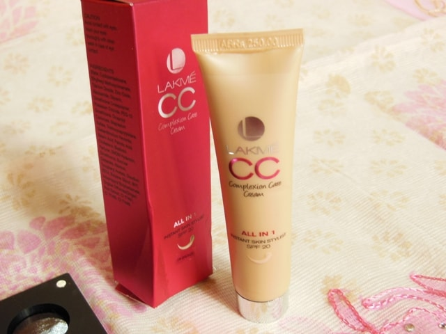 Makeup Favorites This Month - Lakme CC Cream