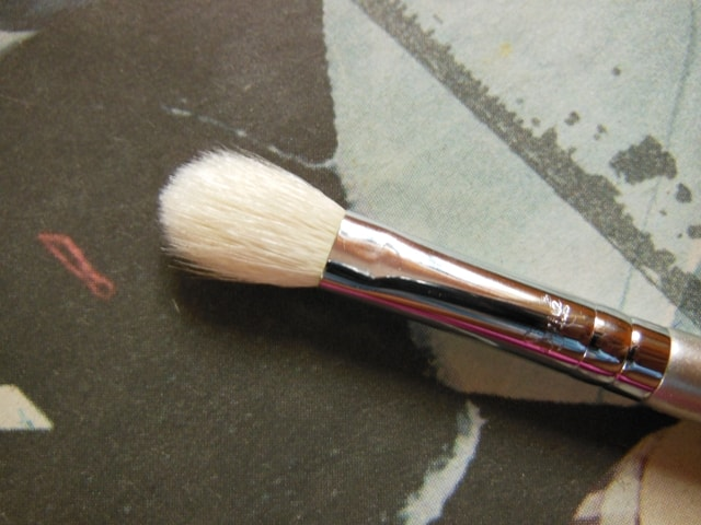 SIGMA Eye Makeup Blending Brush E25 Review