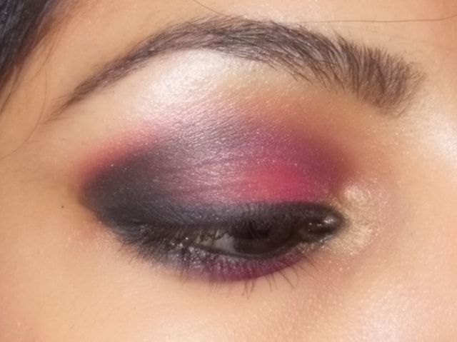 Smokey Pink Eye Makeup