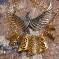 Statement Necklace from Jabong in Gold and Silver