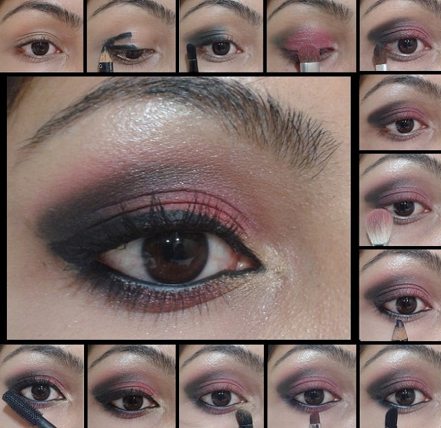 Eye Makeup Tutorial- Smokey Pink Eyes