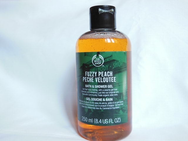 The Body Shop  Peach Bath & Shower Gel