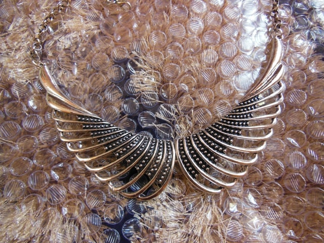 Wing shaped Statement Necklace from Jabong