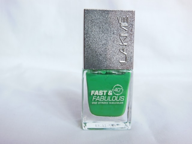 Blog Sale - Lakme Fast& Fabulous Nail Paint Going Green