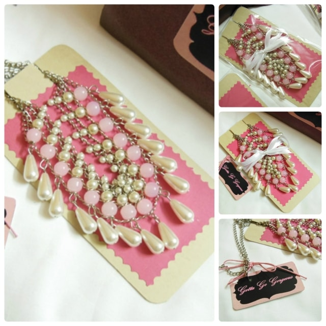Gotta Go Gorgeous Layered Pearl Pink Necklace