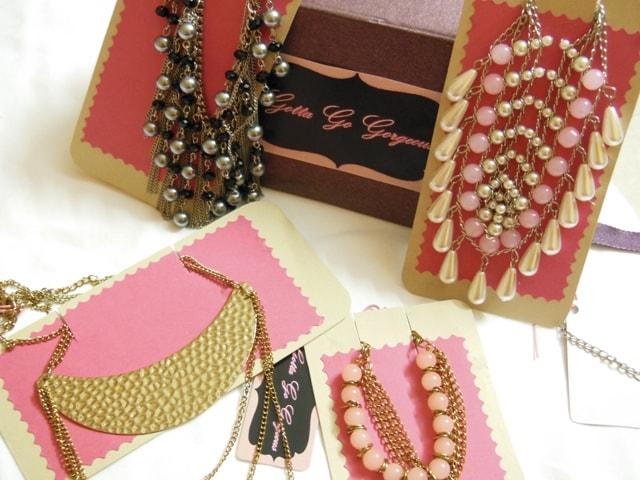 Gotta Go Gorgeous  Necklaces and Bracelet