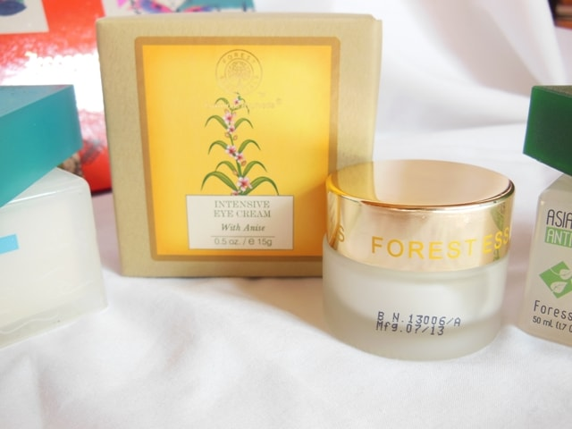 Haul- Forest Essentials Intensive Eye Cream