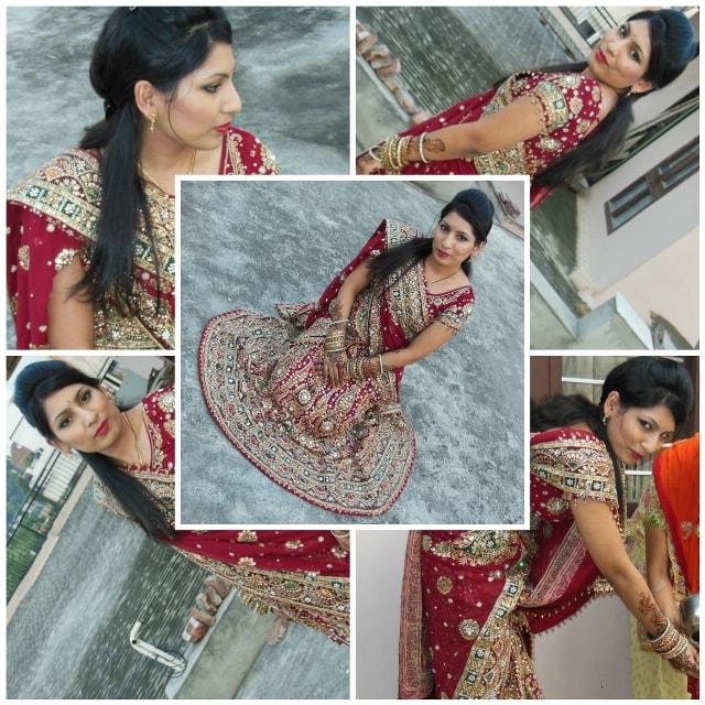 Karvachauth Special - Wedding Lehenga Look 1