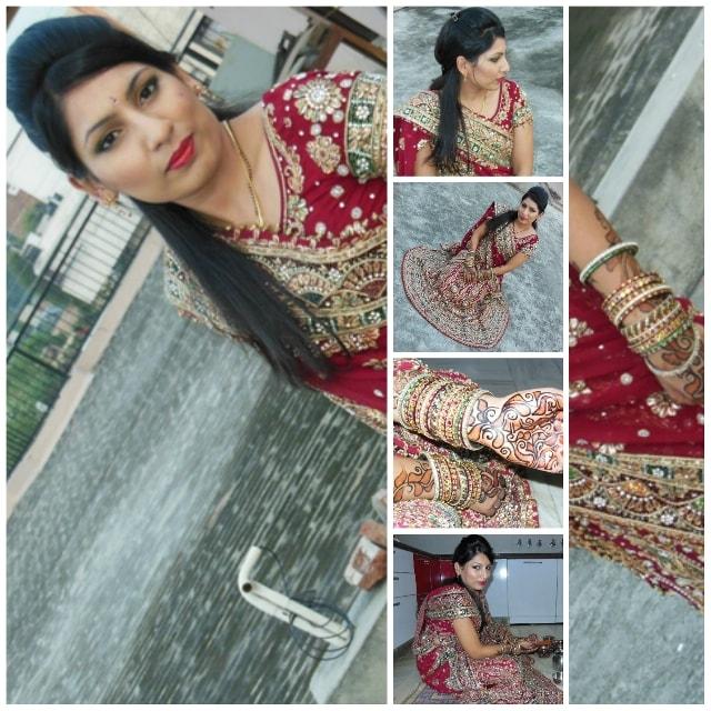 Karvachauth Special - Wedding Lehenga Look