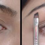 Makeup Tricks - Filling Eyebrows using Angled Liner Brush