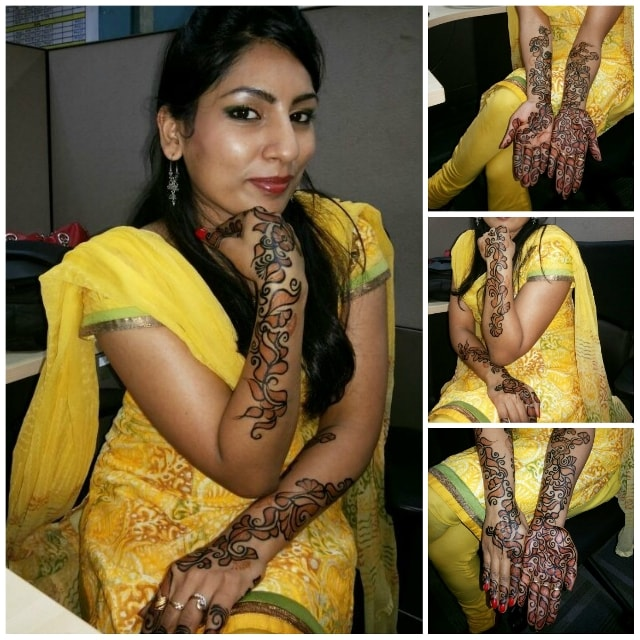 Monthly Favorites -Karwachauth Mehendi
