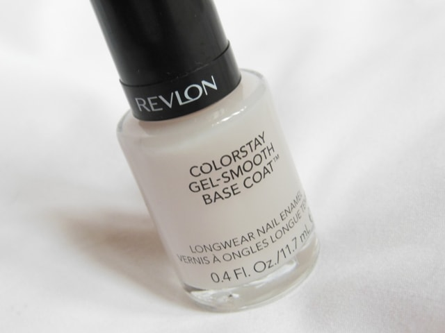 Revlon Colorstay Gel - Smooth Base Coat Review