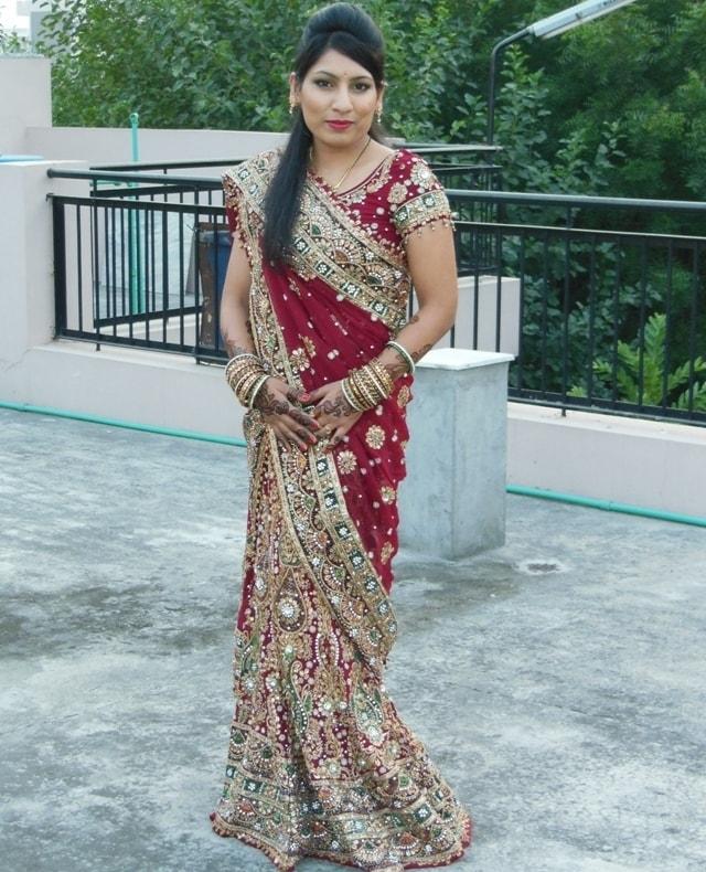 Wedding Lehenga karvachauth Look 7