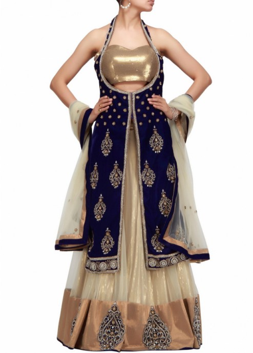 a-lehenga-choli-with-long-jacket-in-beige-and-blue-with-hand-embroidery-handmade